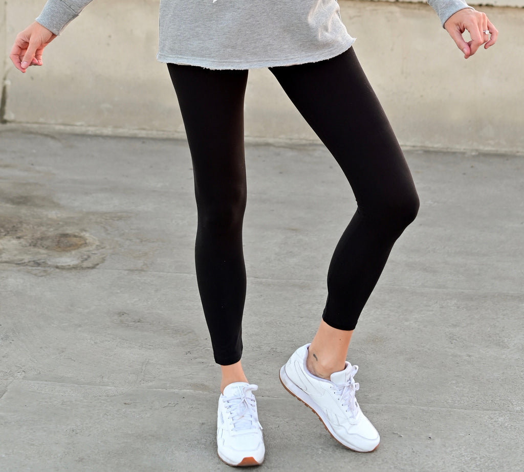 Butter Leggings - Solid Black