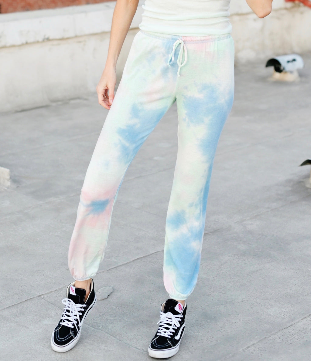 Shop Ever Cotton Candy Joggers - Blue