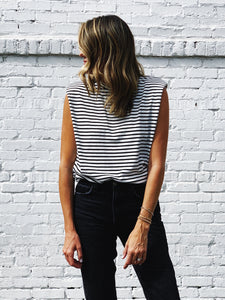 Raddest Muscle Tee - Striped