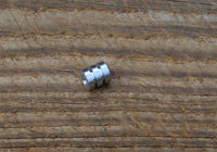 Large Aluminum Lanyard Bead With Two Grooves and a Free Paracord Lanyard