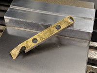 Brass Pry Bar with Patina