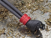 Small Red G10 Lanyard Bead and a Free Paracord Lanyard