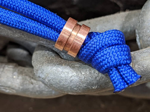 Small Copper Lanyard Bead and a Free Paracord Lanyard