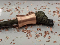 Medium Spool Copper Lanyard Bead and a Free Paracord Lanyard