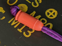 The 45 Orange G10 Bead and a Free Paracord Lanyard