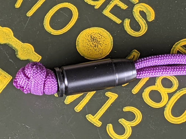 The 9 Black Delrin Bead and a Free Paracord Lanyard