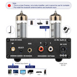 Tube Amplifier Preamp - AIYIMA A3 Pro 6K4 | Bluetooth Amplifier | Subwoofer Amplifier | Class D Amplifier | Hifi Stereo Bass Preamplifier