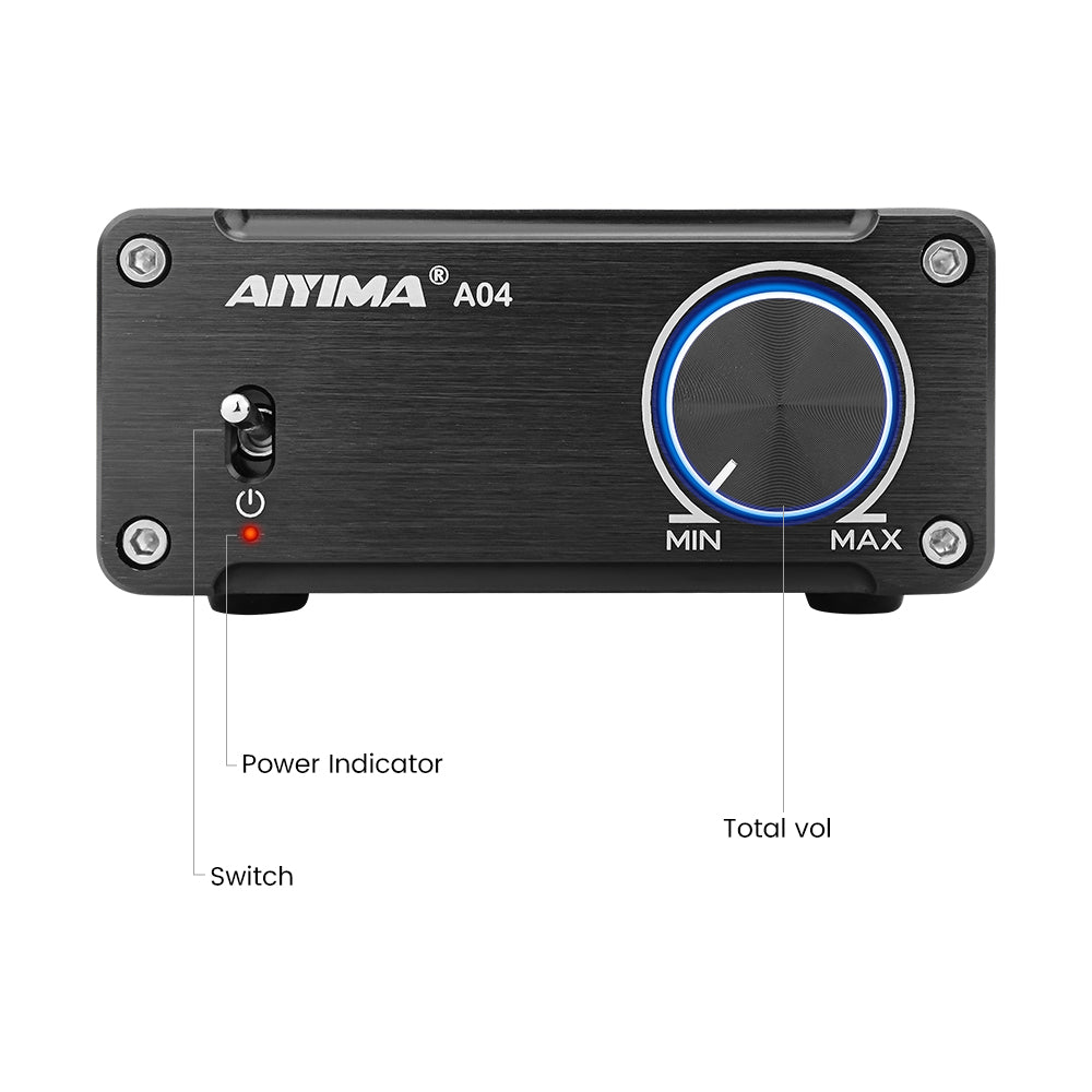 Subwoofer Amplifier - AIYIMA A04 | Power Amplifier | Audio Amplifier | HIFI Stereo Amplifier - AIYIMA