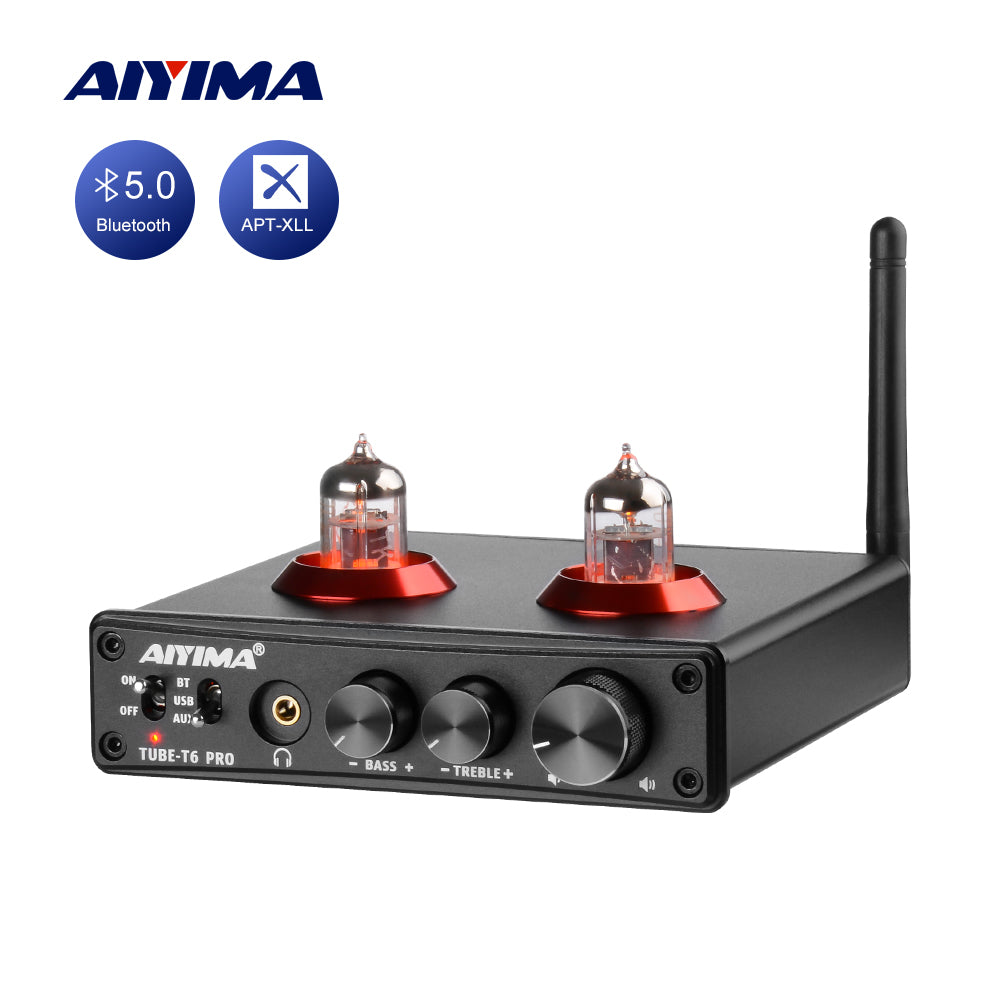 Tube Amplifier Preamp - AIYIMA T6 Pro