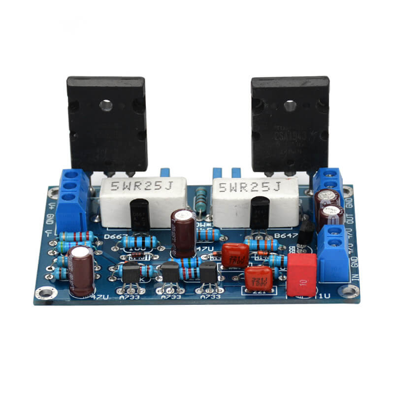 Amplifier Board - AIYIMA A2D847 | 100W 2SC5200+2SA1943 Audio Amplifier Board - AIYIMA
