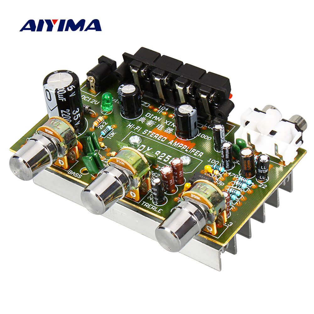 Amplifier Board - AIYIMA B2D1505 | 2.0 Channel Amplifier Board | HIFI Stereo AMP Board | 2.0 Audio Amplifier - AIYIMA