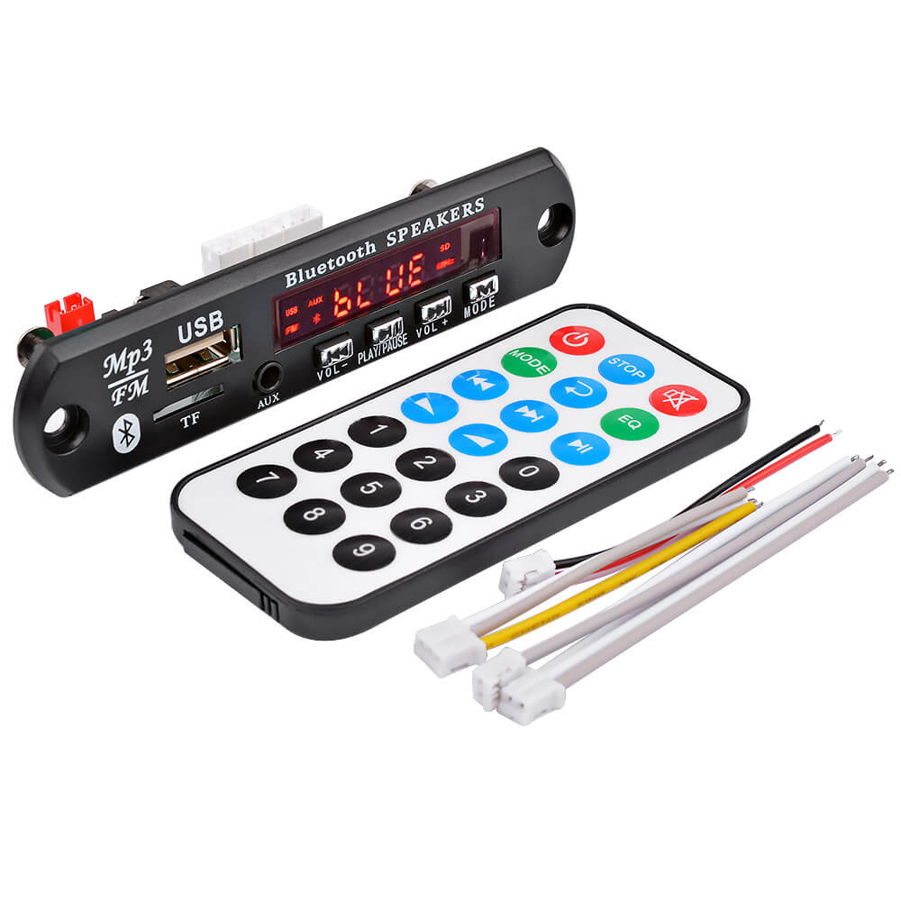 Decoder Board - AIYIMA | Bluetooth MP3 Decoder Board | Stereo Amplifier | USB TF FM AUX - AIYIMA