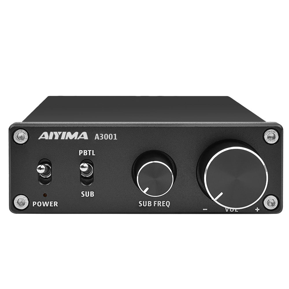 Subwoofer Amplifier - AIYIMA A3001 | Power Amplifier | Class D Amplifier | Hifi Bass Amplifier - AIYIMA