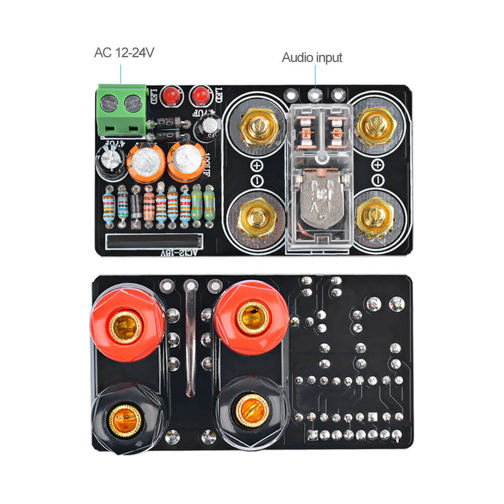 Amplifier Board - AIYIMA B2D1563 | UPC1237 Speaker Protection Board - AIYIMA