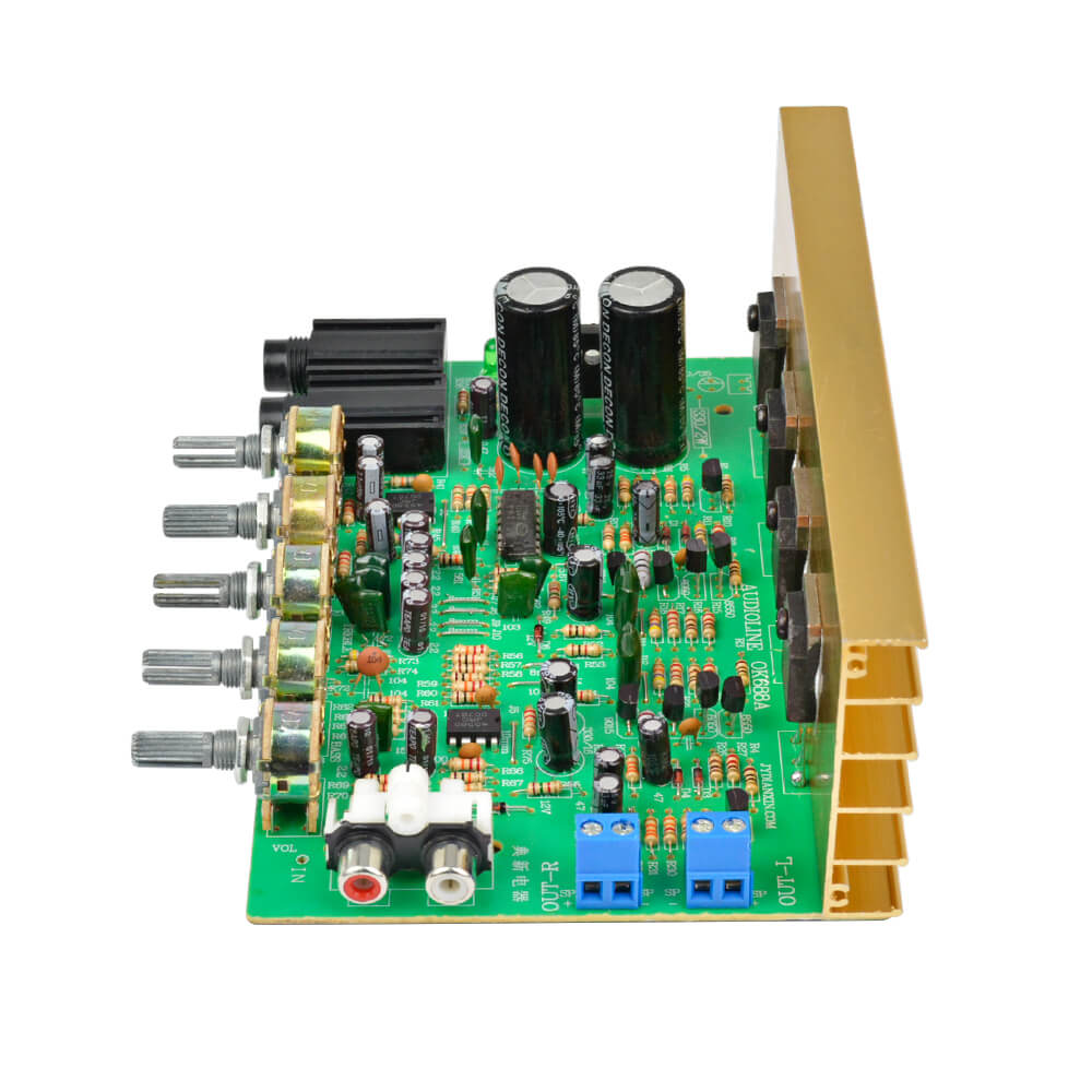 Amplifier Board - AIYIMA B2D1070 | Karaoke Audio Amplifier Board HIFI Digital Reverb Power Amplifier - AIYIMA