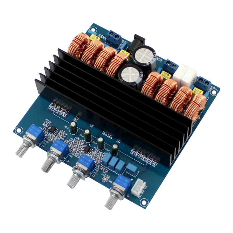 Amplifier Board - AIYIMA B2D803 - TDA7498 | 2.1 Channel Amplificador Class D Amplifiers Audio Board Digital Power Amplifier Board - AIYIMA