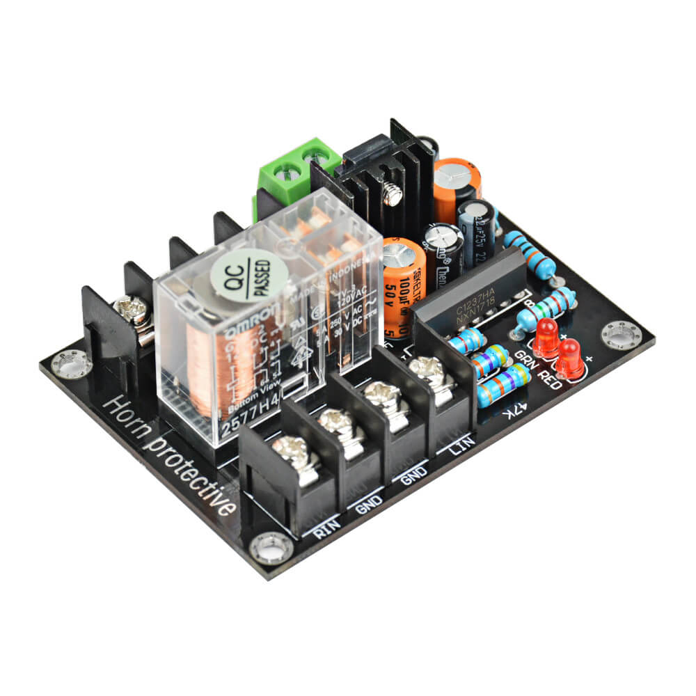 Amplifier Board - AIYIMA B2D766 | 2.0 Speaker Protective Board | AC 12V-18V Relay Protection Board - AIYIMA