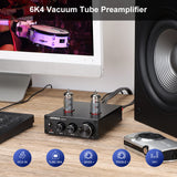 Tube Amplifier Preamp - AIYIMA A3 | Bluetooth Amplifier | Subwoofer Amplifier | Hifi Stereo Bass Preamplifier