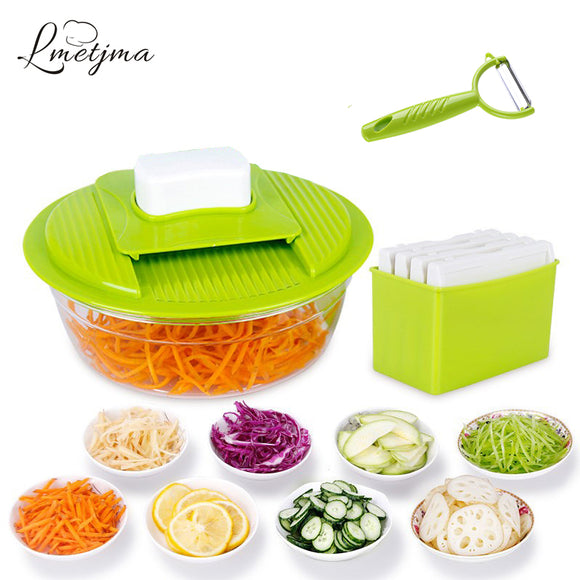 Mandoline Vegetable Slicer Stainless Steel Cutting Vegetable Grater Creative Kitchen Gadget Carrot Potato cutter LK0728A