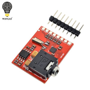 WAVGAT Si4703 RDS FM Radio Tuner Evaluation Breakout Module For Arduino AVR PIC ARM Radio Data Service Filtering Carrier Module