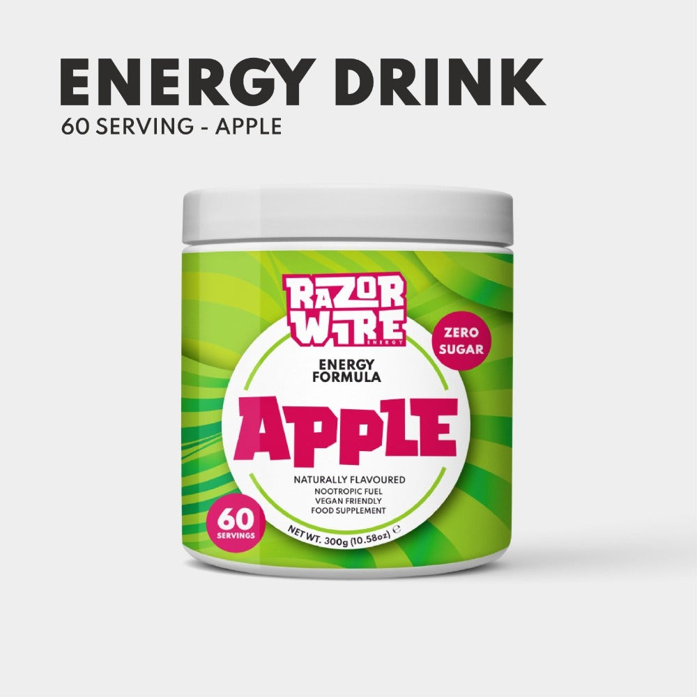 Apple Naturally Flavoured Energy Drink Formula - Gaming Energy Drink