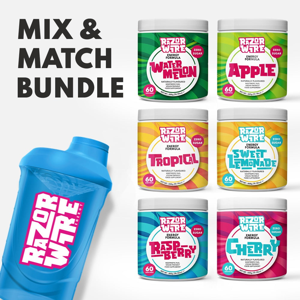 BRIGHT/COLOUR SHAKER + MIX & MATCH TUBS BUNDLE