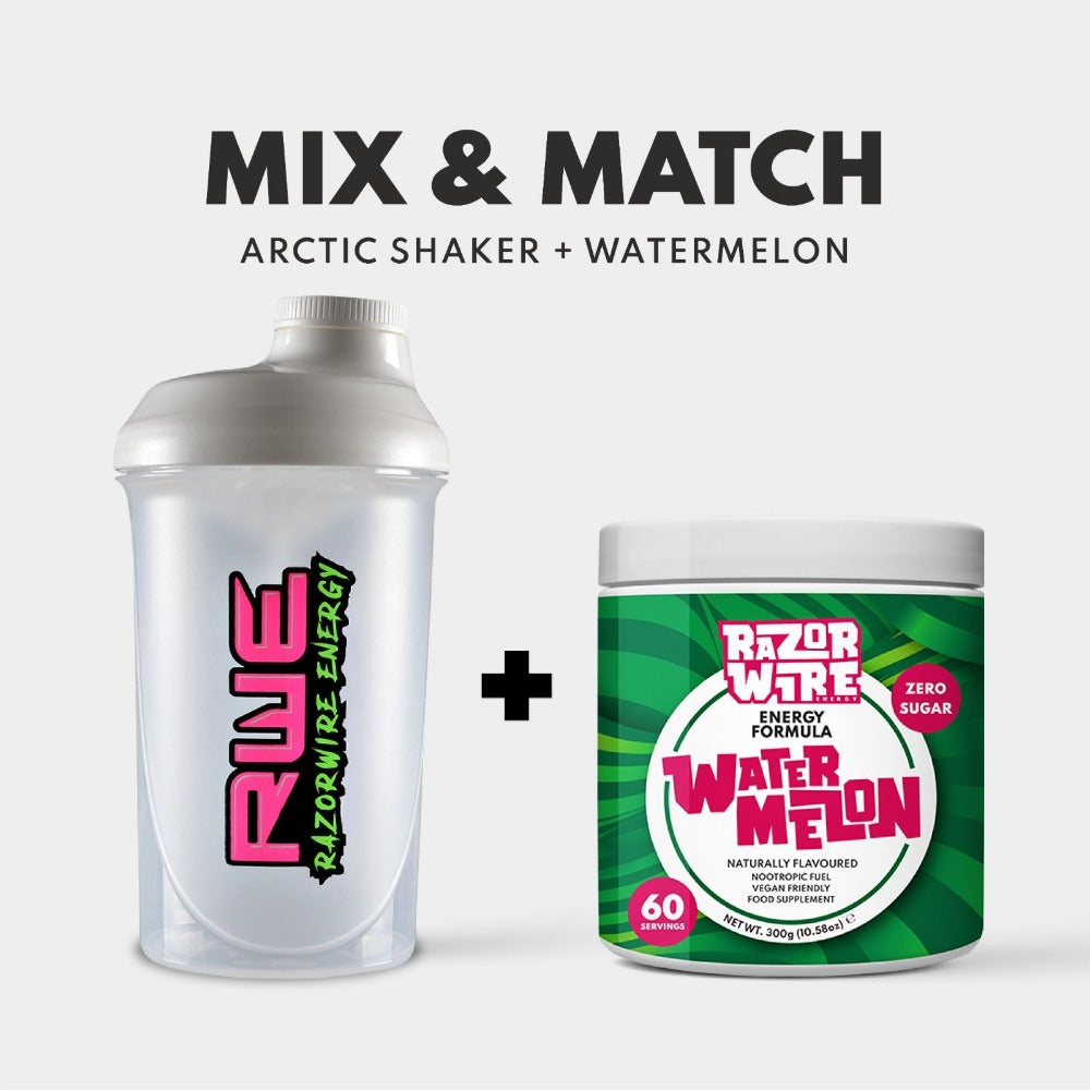 SHAKER + 60 SERVING TUB BUNDLE