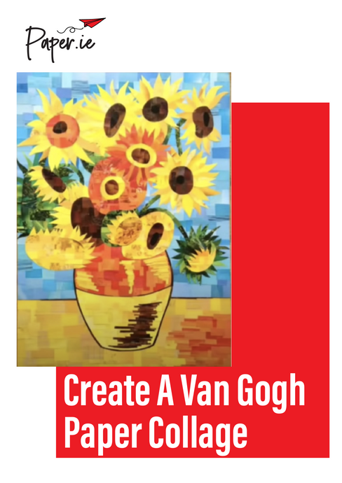 Create your own Vincent Van Gogh paper collage