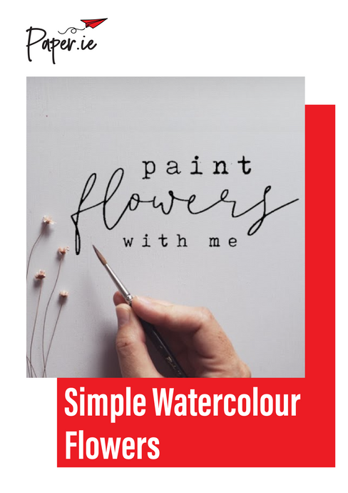 Create Simple Watercolour Flowers