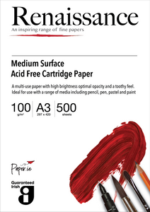 White Acid Free Drawing Cartridge Paper