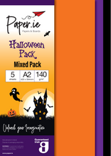 Load image into Gallery viewer, Halloween A2 Paper Packs
