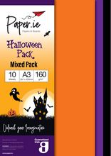 Load image into Gallery viewer, Halloween A3 Paper Packs