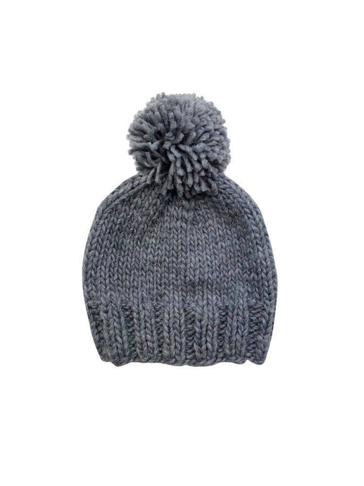 {POM HAT} The Blueberry Hill - Gray