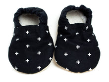 Yeti Feet & Company - Black Cross Baby Moccs