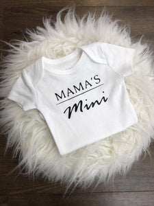 {BODYSUIT} Mama's Mini