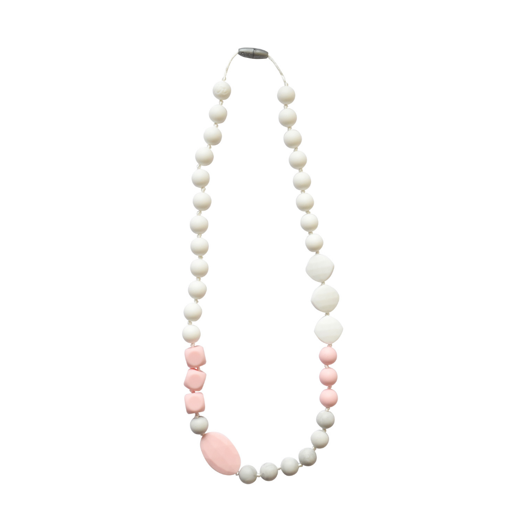 {TEETHER} Itzy Ritzy - Strawberry Ice Necklace