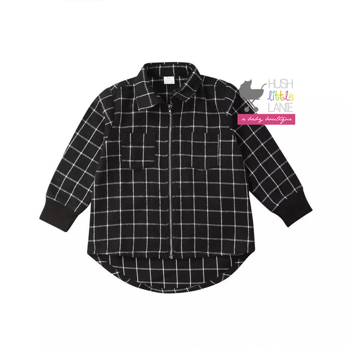 {SHIRT} Black Flannel