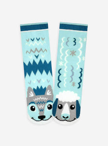 Pals Socks - Wolf & Sheep