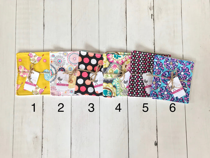 {BURP CLOTH} Handmade - Girls