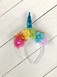 {HEADBAND} Unicorn Rainbow