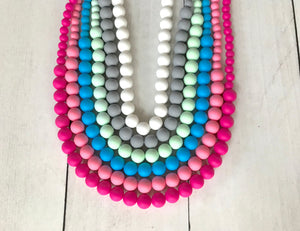 {TEETHER} Silicone Teething Necklace