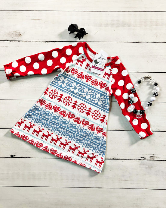 {DRESS} Fair Isle