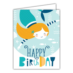 {GREETING CARD} Happy Birthday Mermaid