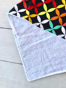 {BURP CLOTH} Handmade - Bright
