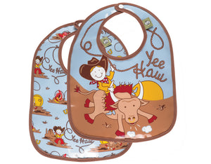 {BIB} Yee Haw Bib - Gift Set of Two