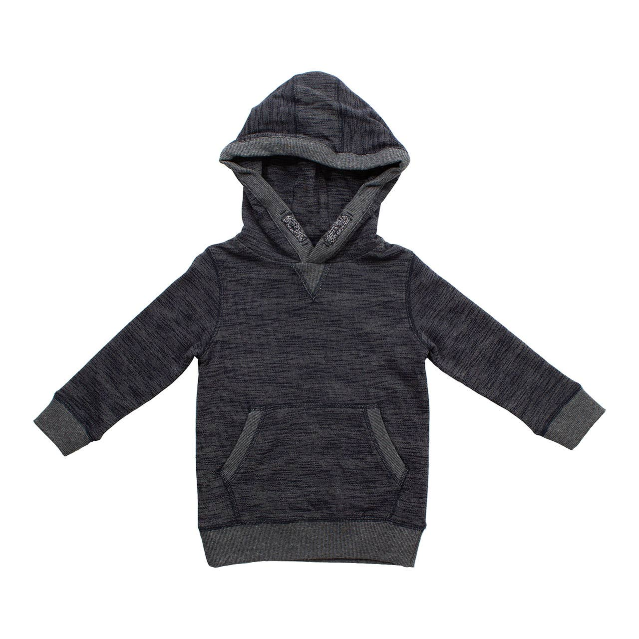 Bear Camp - Navy Textured Hoodie