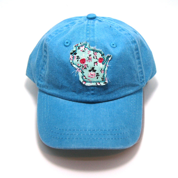 {HAT} Wisconsin - Mint Patch Youth