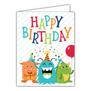 {GREETING CARD} Happy Birthday MonsteR