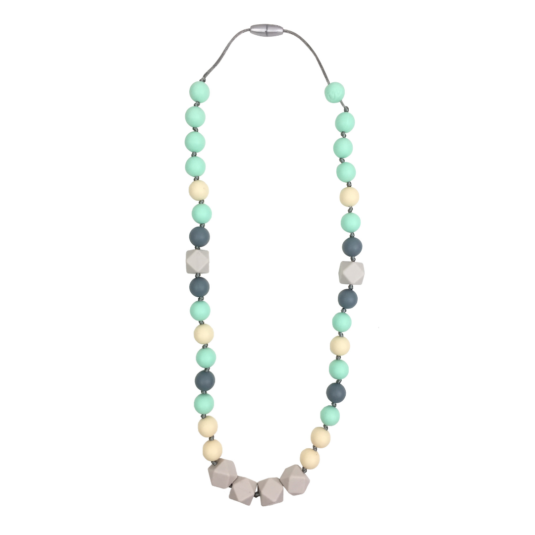 {TEETHER} Itzy Ritzy - River Mist Necklace