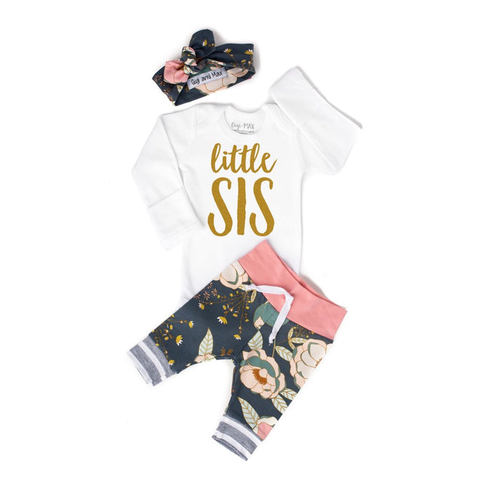 {OUTFIT} Little Sis Newborn Outfit